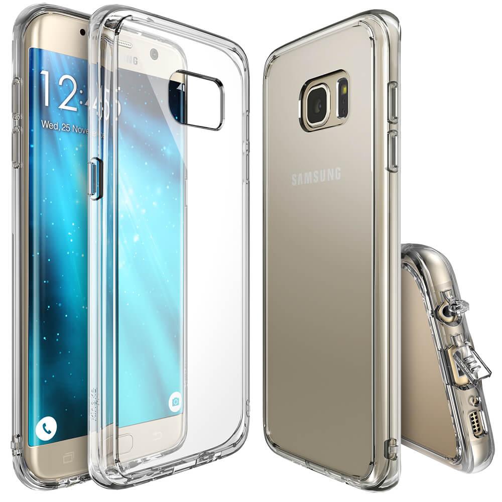 RINGKE FUSION Samsung Galaxy S7 Edge priehľadný