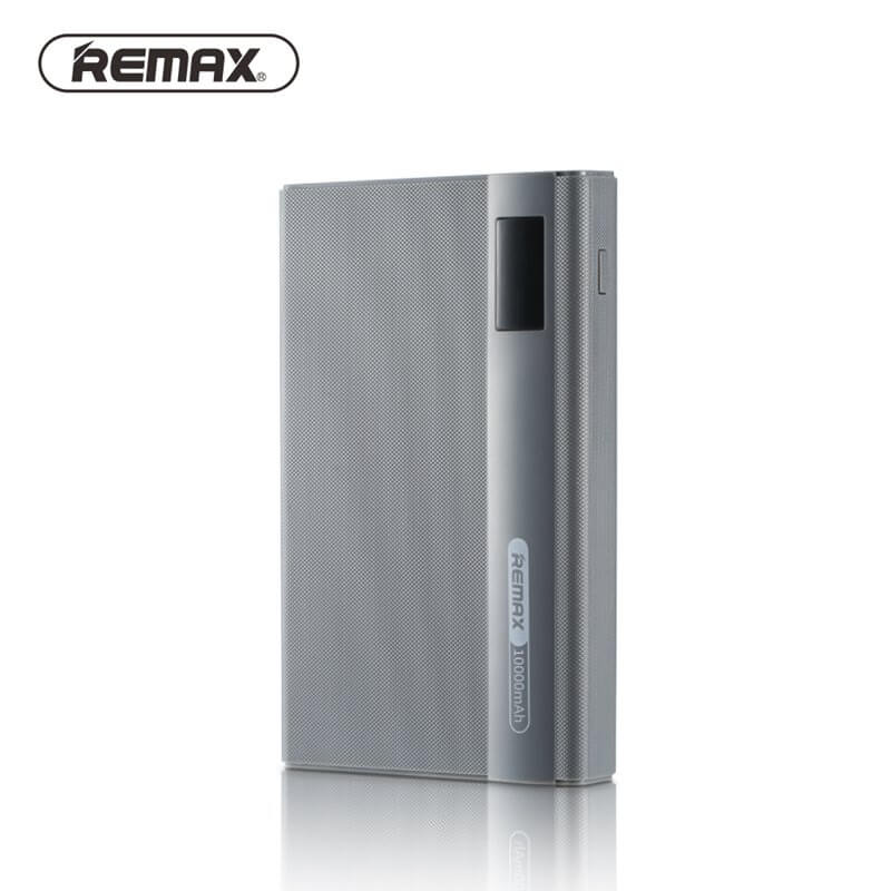 REMAX LINON PRO Externá nabíjačka 10 000 mAh strieborná