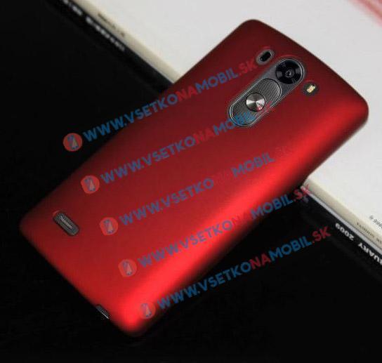 Plastový obal LG G3S (mini) červený