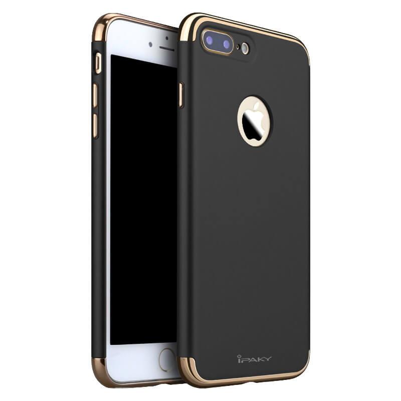 IPAKY 3v1 Ochranný kryt Apple iPhone 7 Plus černý e800a6093b5