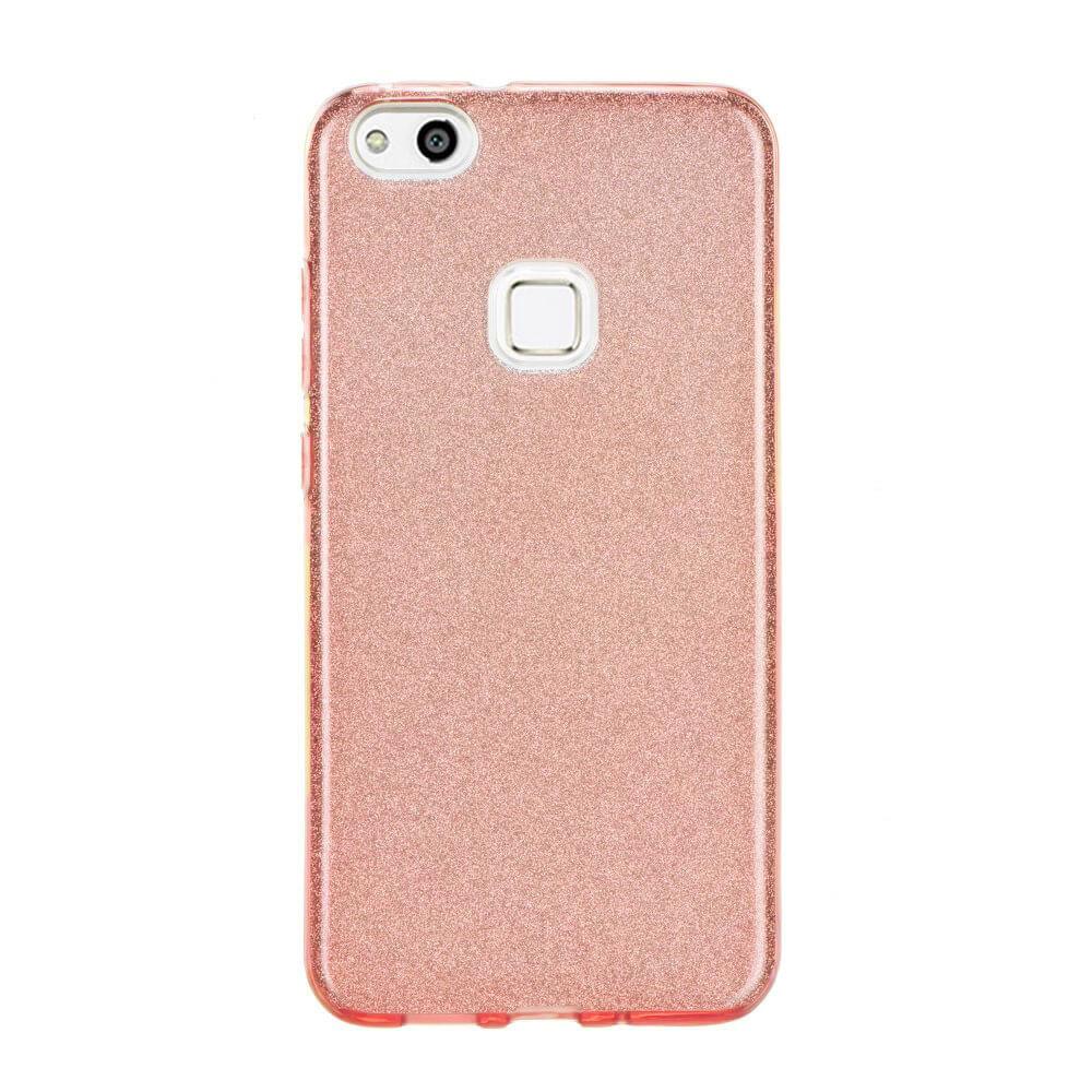 FORCELL SHINING Ochranný obal Huawei P10 Lite růžový