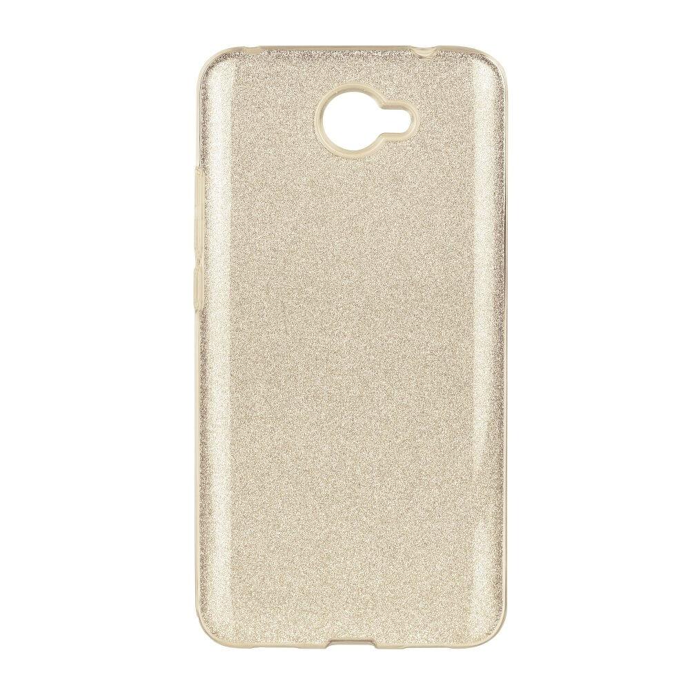 SHINING Ochranný obal Huawei Y7 zlatý