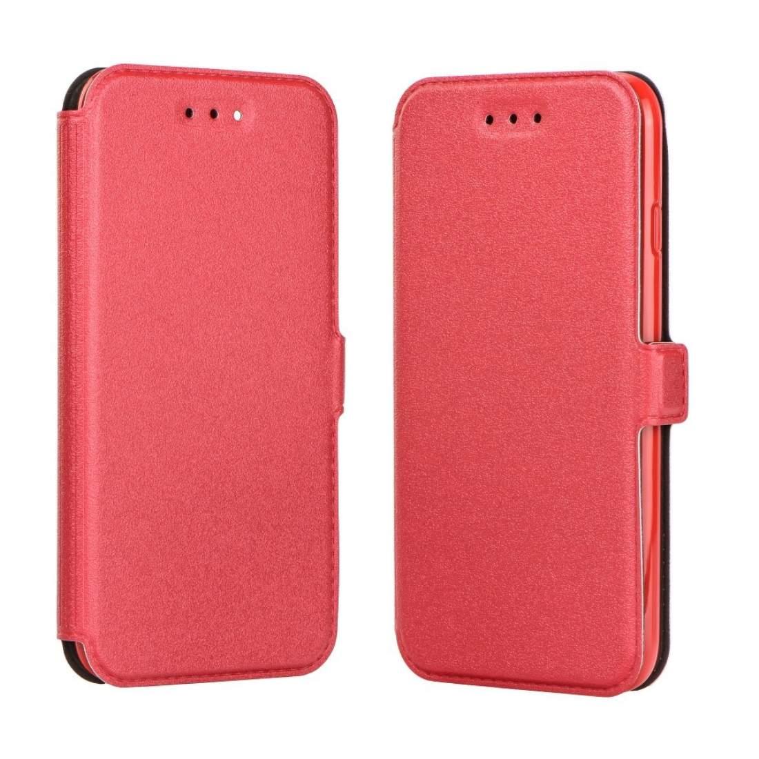 FORCELL SMOOTH Peňaženkový obal Apple iPhone 7   iPhone 8 červený 918c9fb6594