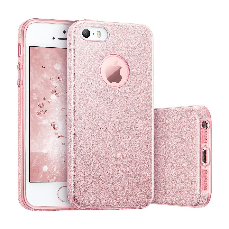 FORCELL SHINING Ochranný obal Apple iPhone 5 / 5S / SE ružový