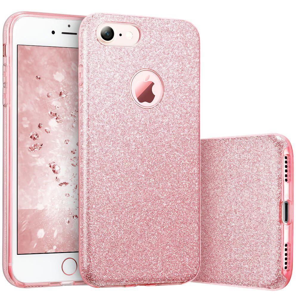 FORCELL SHINING Ochranný obal Apple iPhone 7 růžový