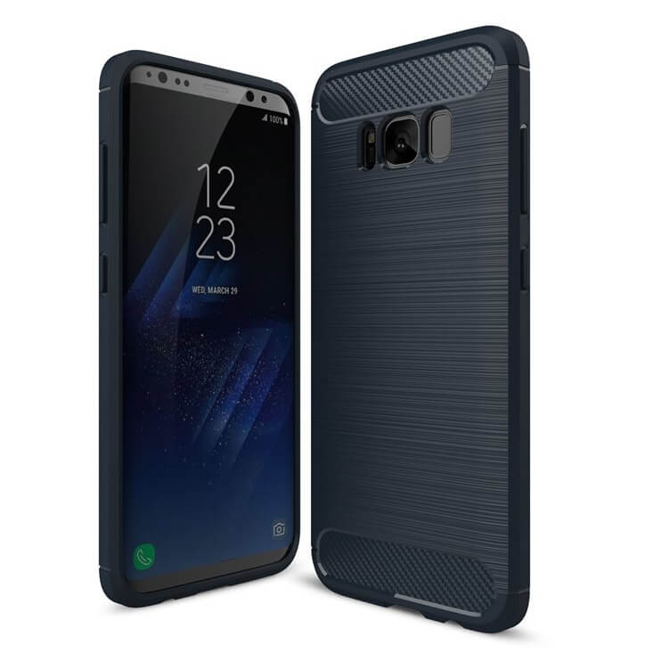FLEXI TPU obal Samsung Galaxy S8 modrý