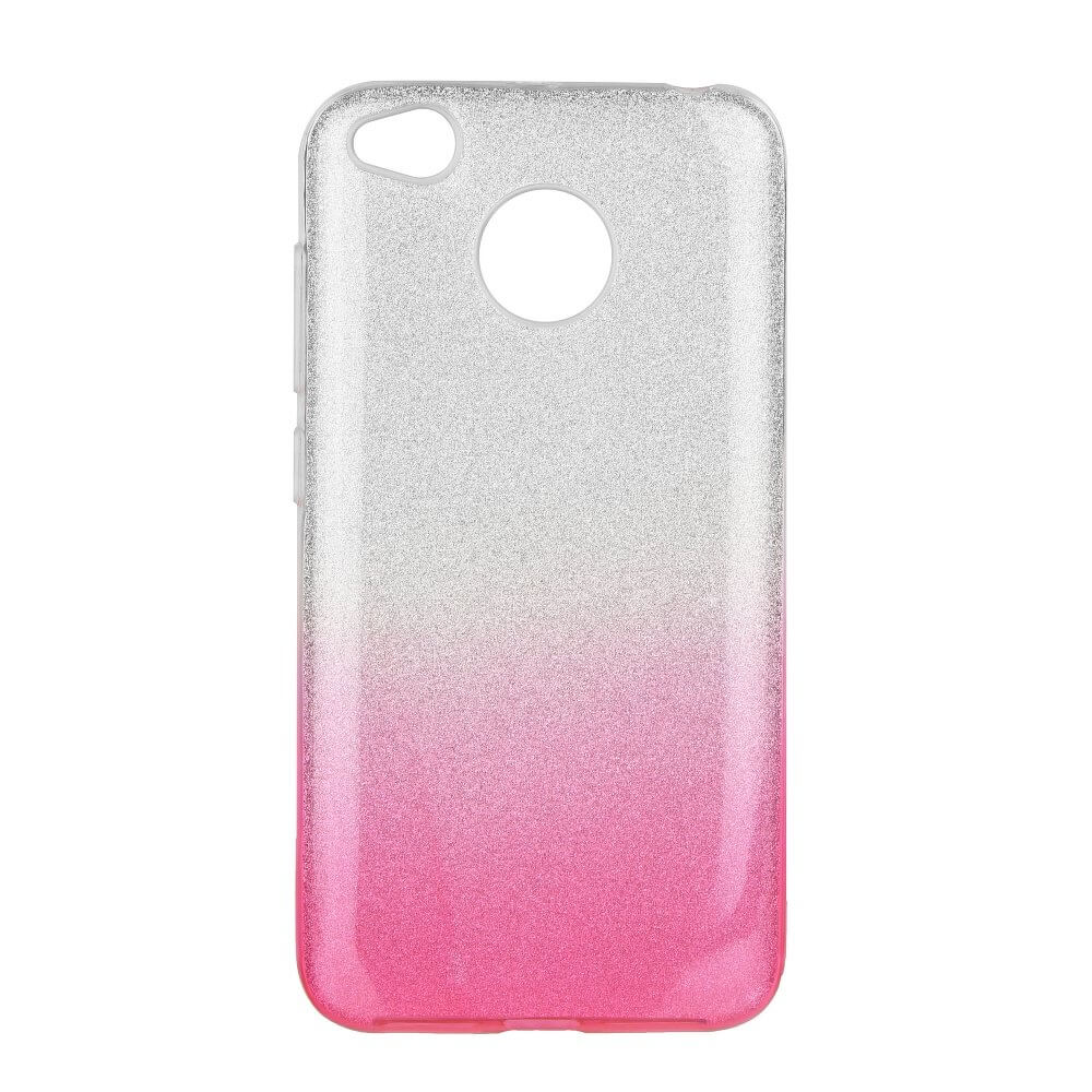 FORCELL SHINING Ochranný obal Xiaomi Redmi 4X ružový