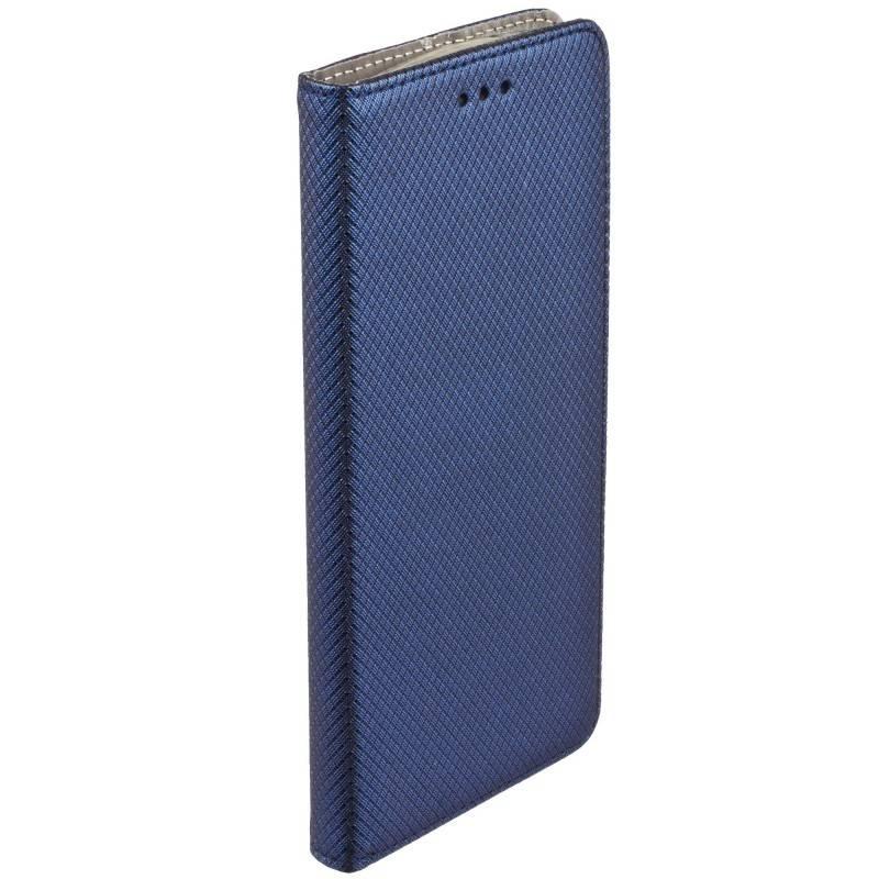 FORCELL MAGNET Peňaženkový obal Huawei Y6 2017 / Y5 2017 modrý