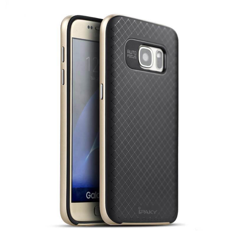IPAKY BUMBLEBEE obal Samsung Galaxy S7 zlatý a52cda1847a