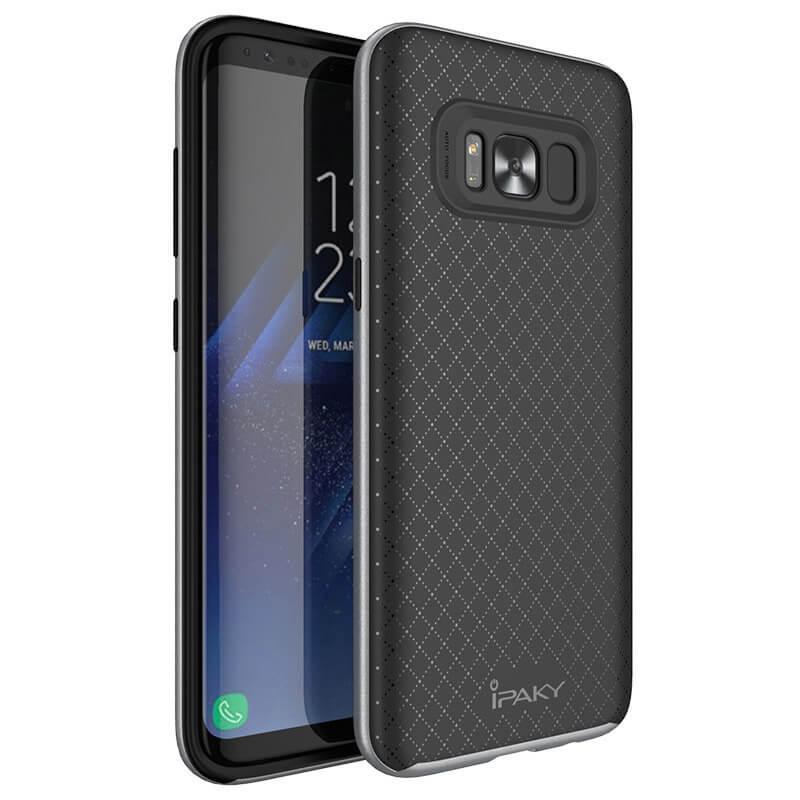 IPAKY BUMBLEBEE obal Samsung Galaxy S8 šedý
