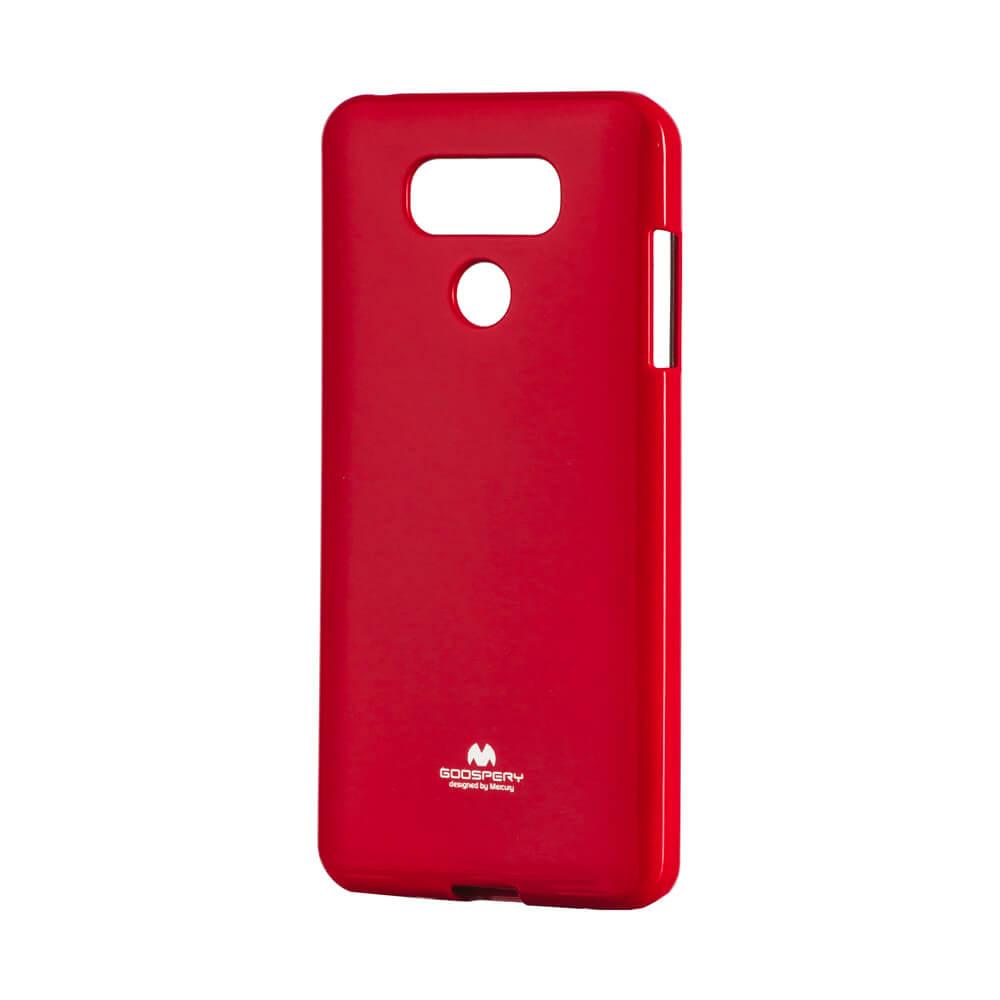 MERCURY JELLY ochranný obal LG G6 červený