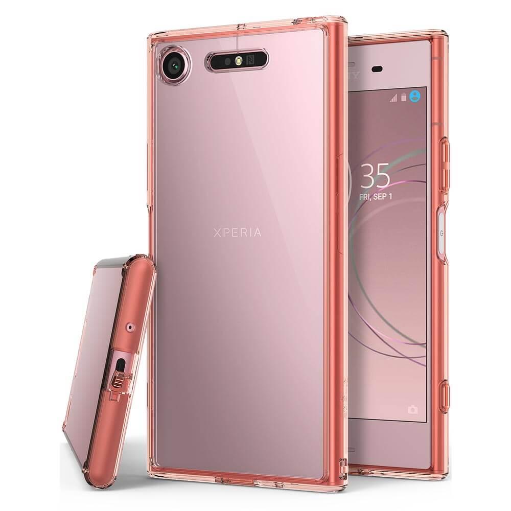 RINGKE FUSION obal Sony Xperia XZ1 ružový