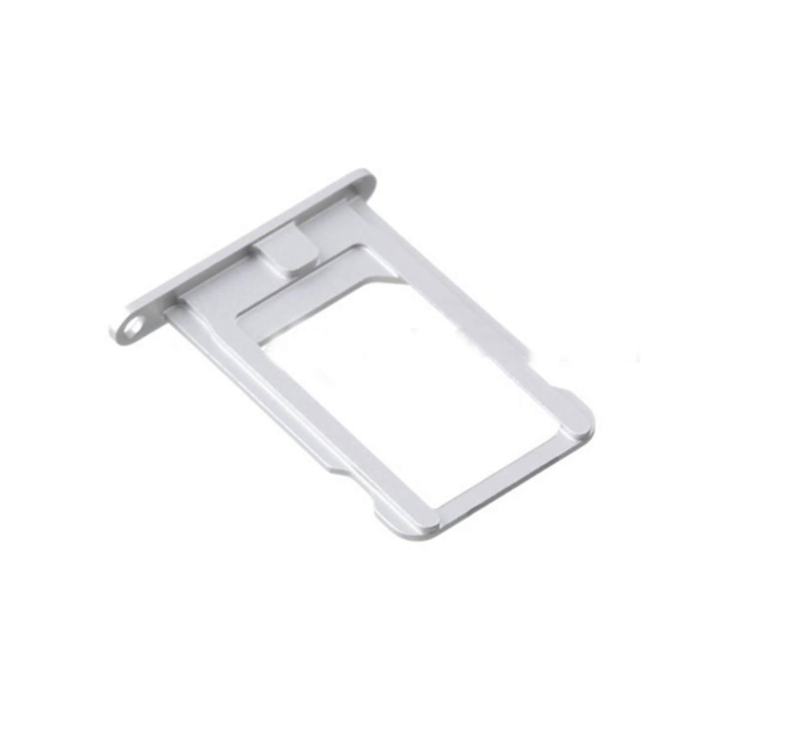 UNBRANDED SIM Slot - Apple iPhone 5S - stříbrný