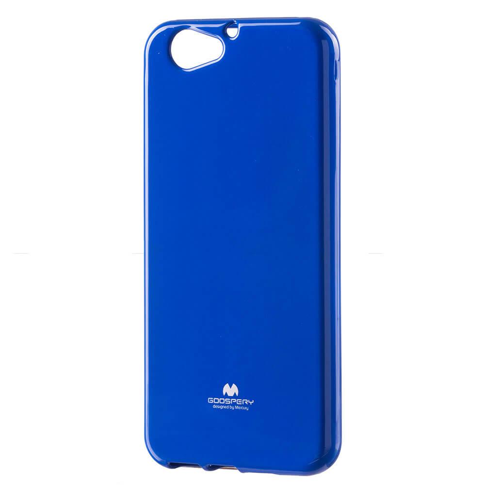 MERCURY JELLY Gumený obal HTC One A9s modrý
