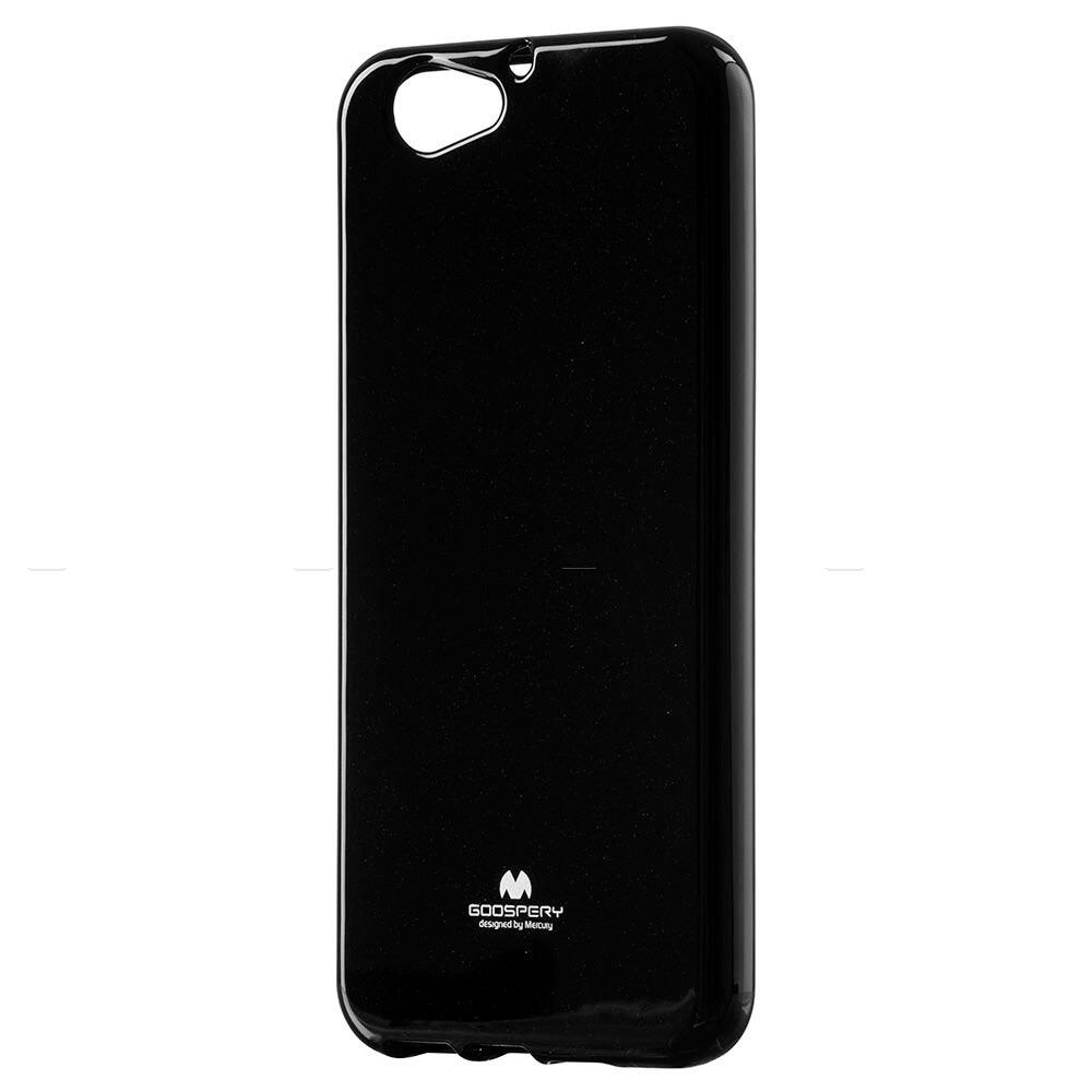 MERCURY JELLY Gumený obal HTC One A9s čierny