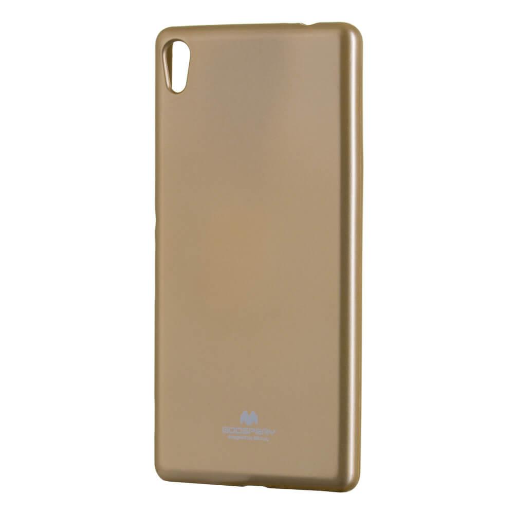 MERCURY JELLY Gumový obal Sony Xperia XA Ultra zlatý