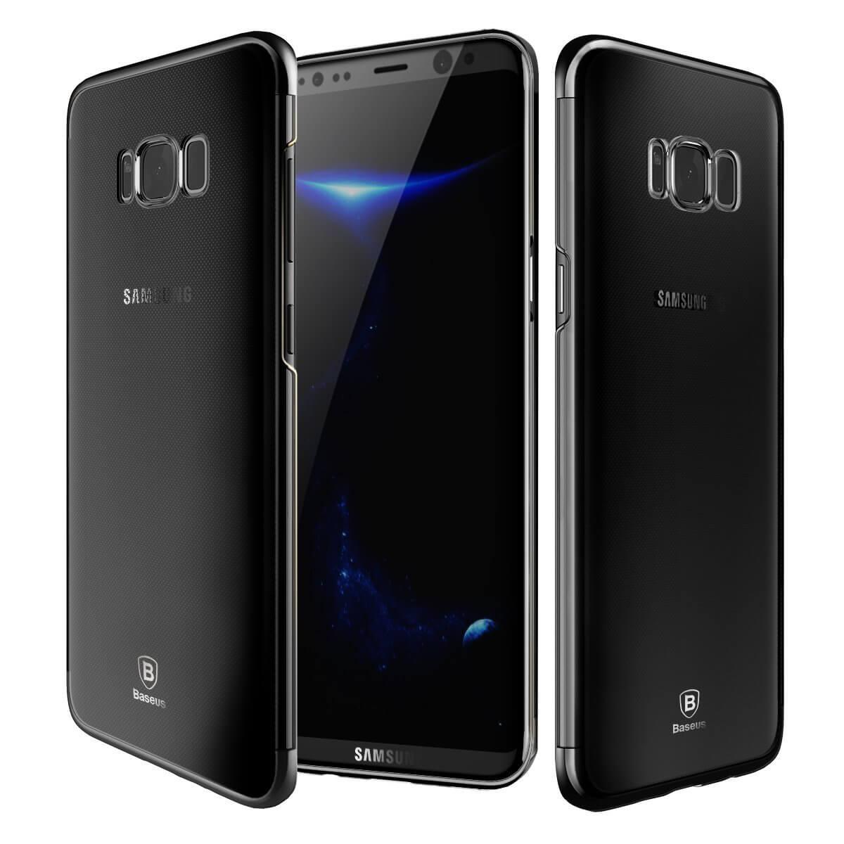 BASEUS GLITTER Samsung Galaxy S8 Plus čierny
