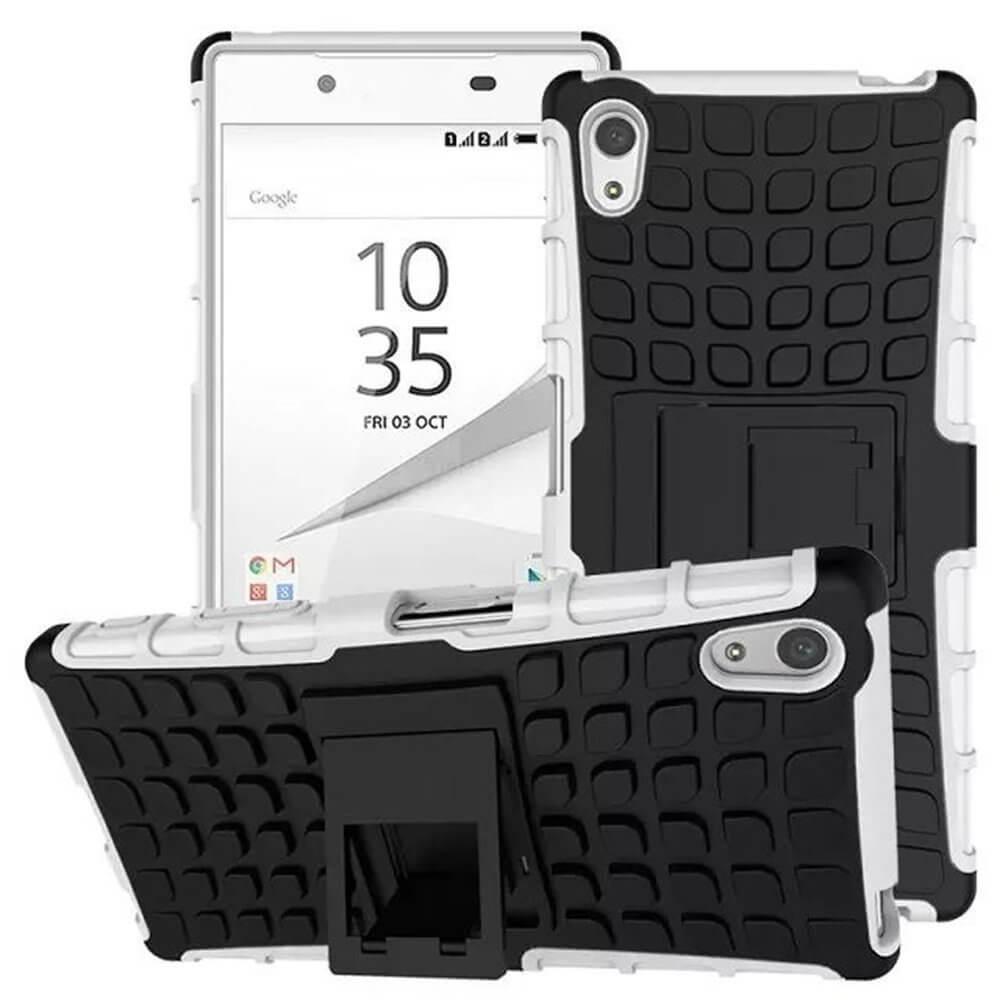 STAND Extra odolný obal Sony Xperia Z5 Premium biely