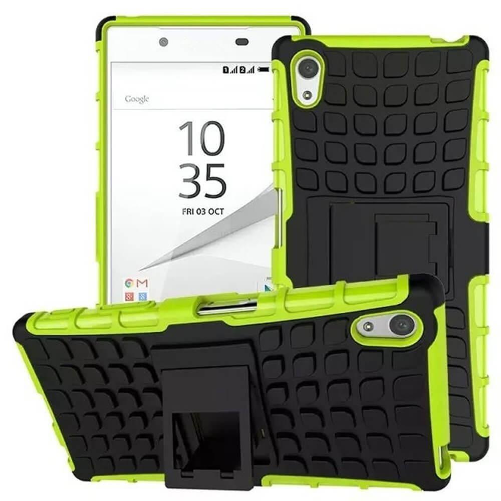 STAND Extra odolný obal Sony Xperia Z5 Premium zelený