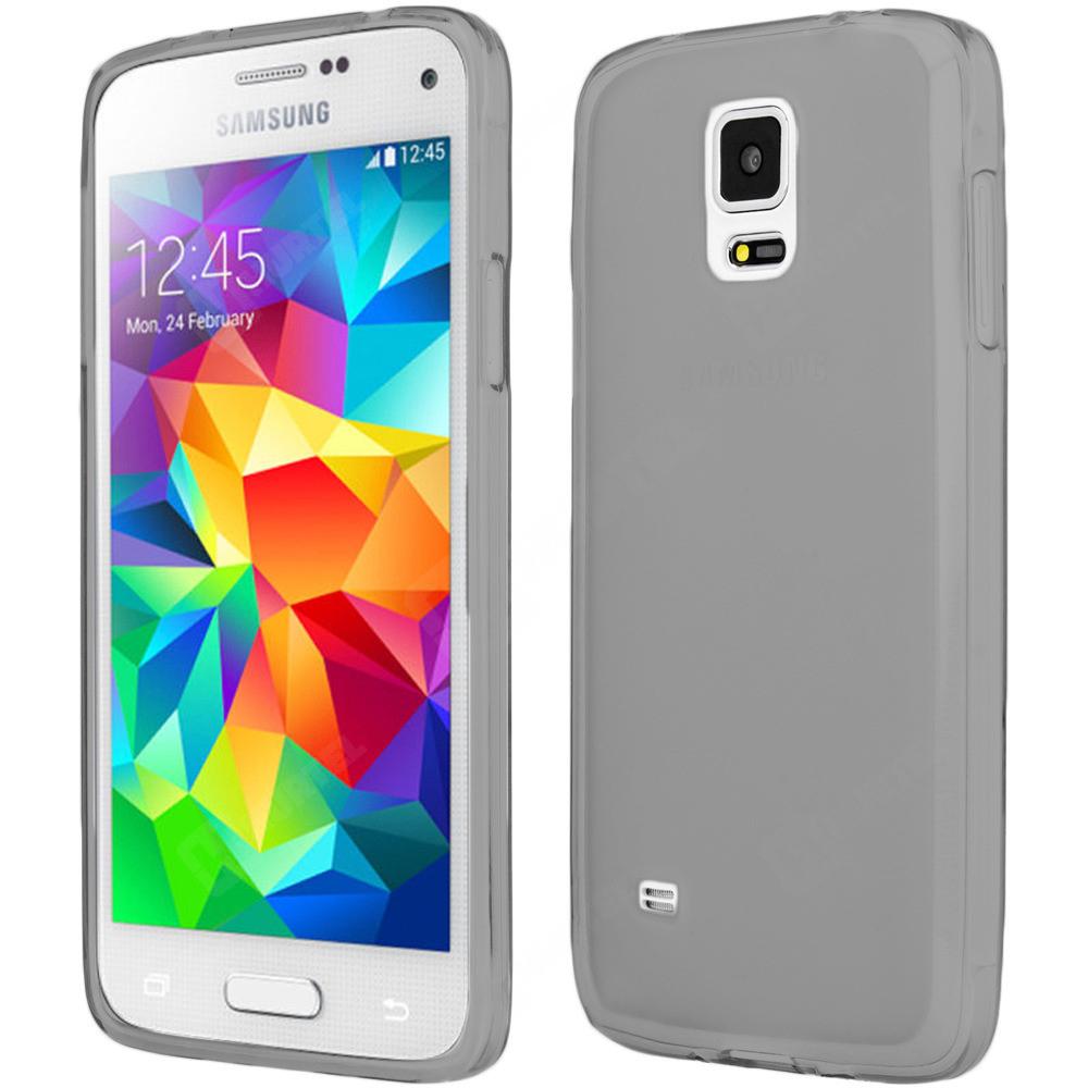 FORCELL Silikonový obal Samsung Galaxy S5 mini šedý