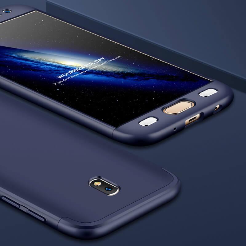 FORCELL 360 ° Ochranný obal Samsung Galaxy J3 2017 (J330) modrý