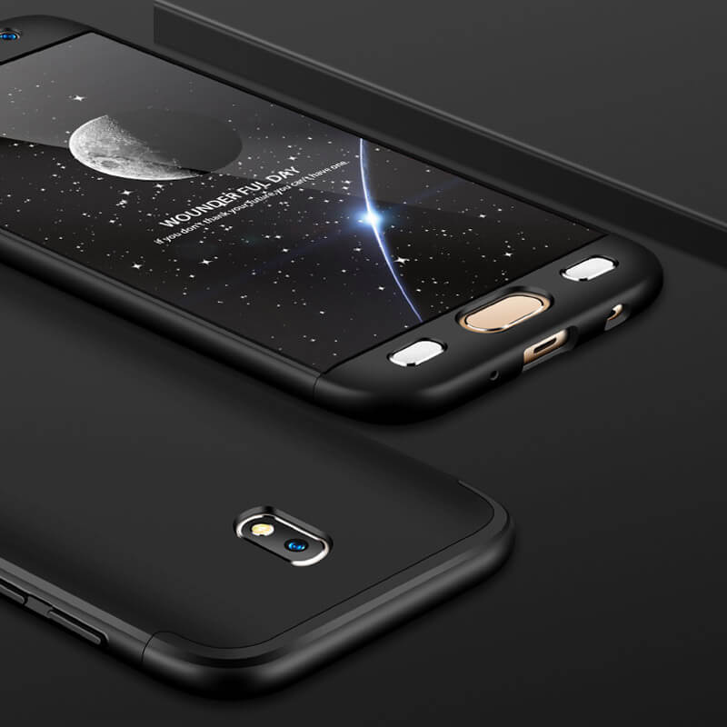 FORCELL 360° Ochranný obal Samsung Galaxy J7 2017 (J730) čierny