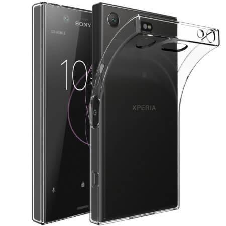 FORCELL Silikonový obal Sony Xperia XZ1 Compact průhledný