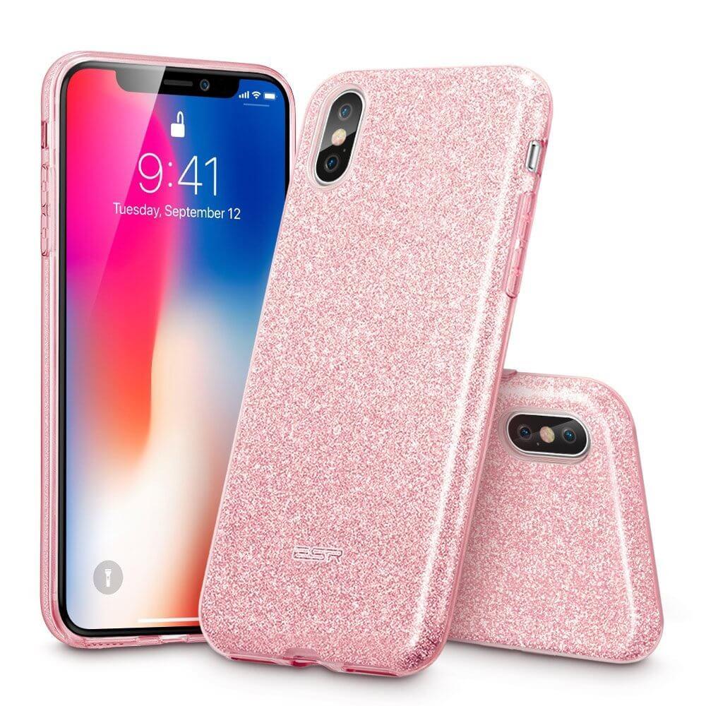 FORCELL SHINING Ochranný obal Apple iPhone XR růžový ae9aa258660
