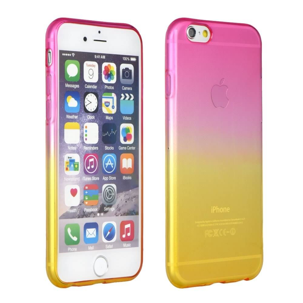 FORCELL OMBRE obal Apple iPhone 7   iphone 8 růžový 252eb2a906d