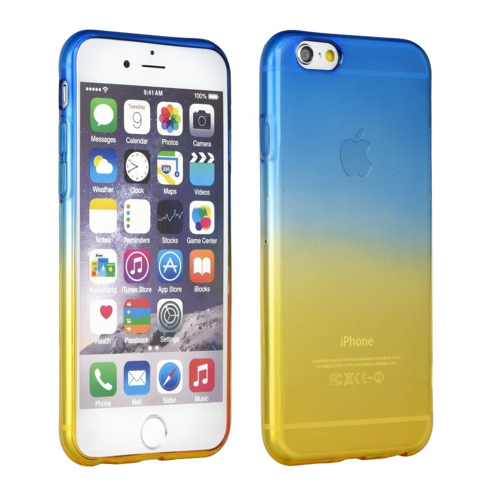 FORCELL OMBRE obal Apple iPhone 6 Plus / 6S Plus modrý