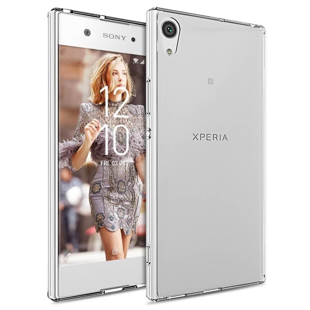 FORCELL Silikonový obal Sony Xperia XA1 Ultra průhledný