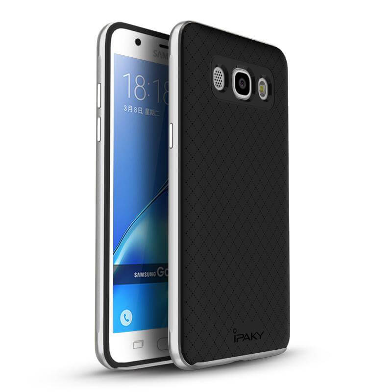 IPAKY BUMBLEBEE obal Samsung Galaxy J5 2016 (J510) strieborný