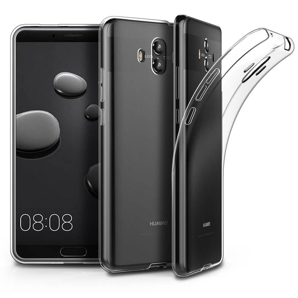 FORCELL Silikónový obal Huawei Mate 10 priehľadný