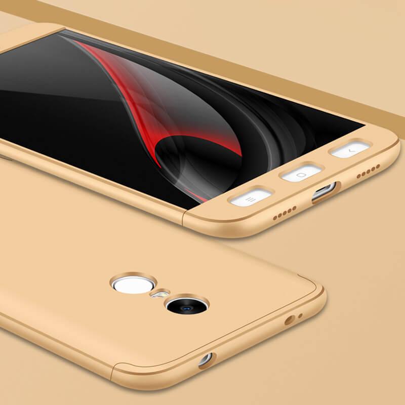 FORCELL 360 ° Ochranný obal Xiaomi Redmi Note 4 (MediaTek) zlatý bf6851ede9c