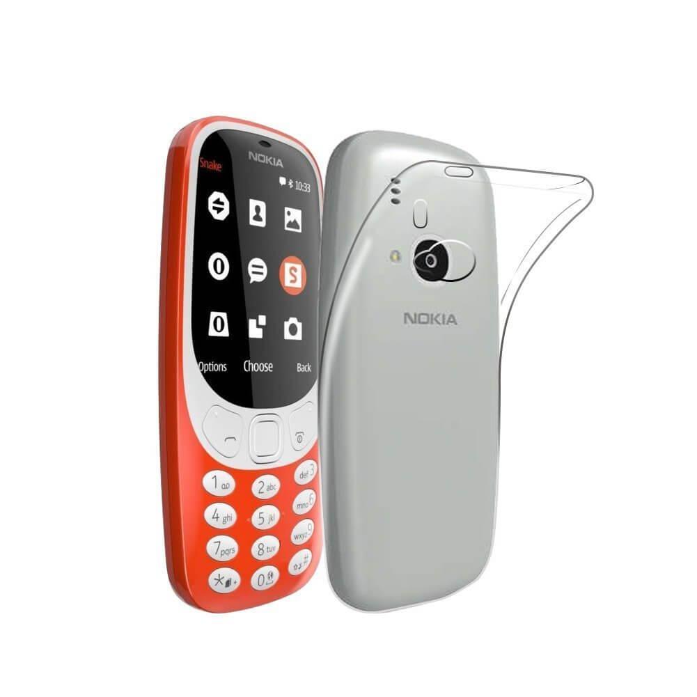 FORCELL Silikonový obal Nokia 3310 (2017) průhledný