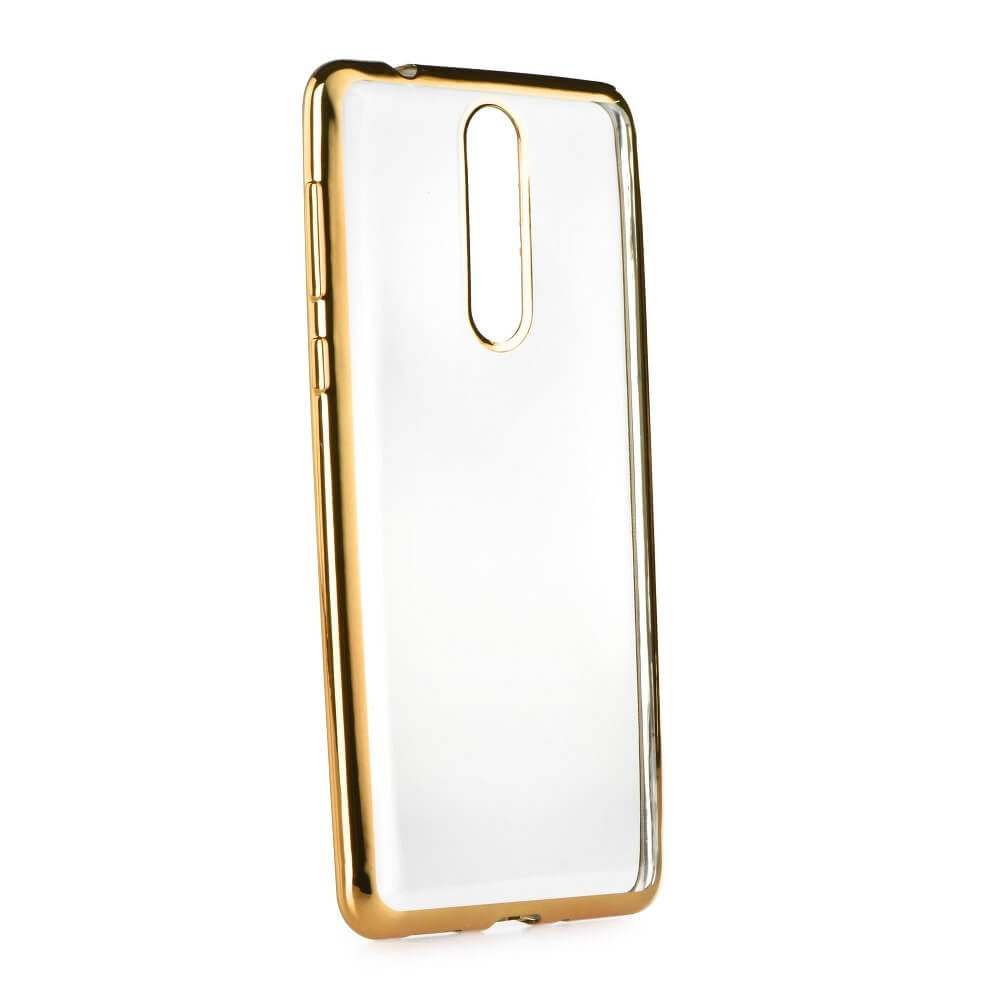 FORCELL METALLIC Silikonový obal Nokia 8 zlatý ea349304395