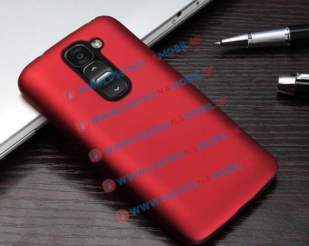 Plastový obal LG G2 červený