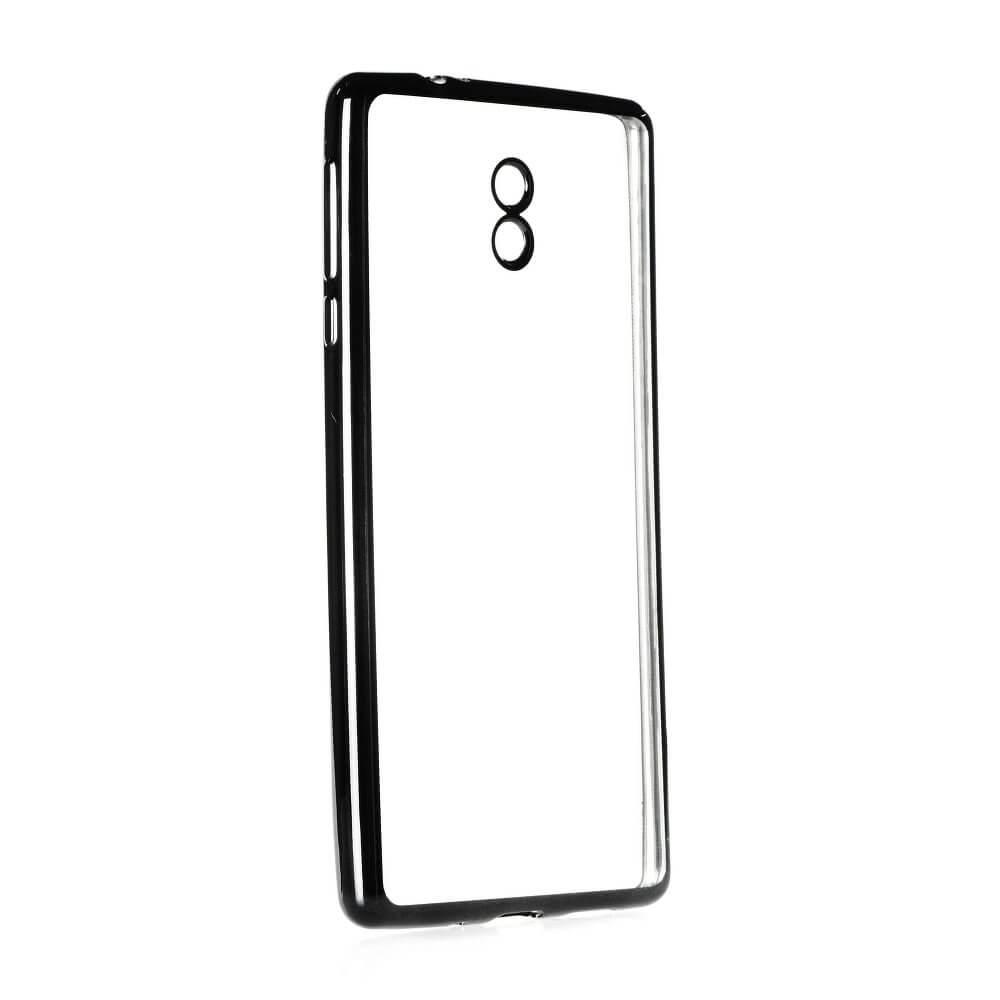 FORCELL METALLIC Silikonový obal Nokia 3 černý 004b412756f