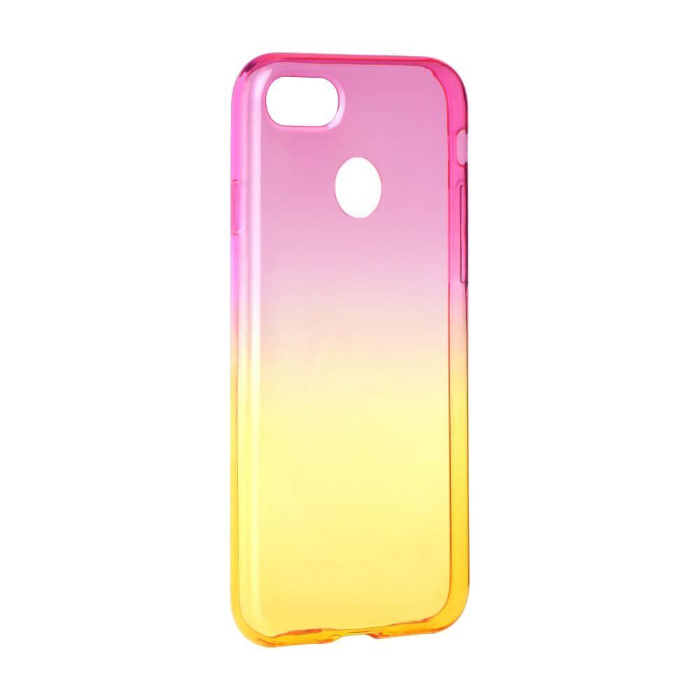 FORCELL OMBRE Silikónový obal Huawei P9 Lite MINI ružový
