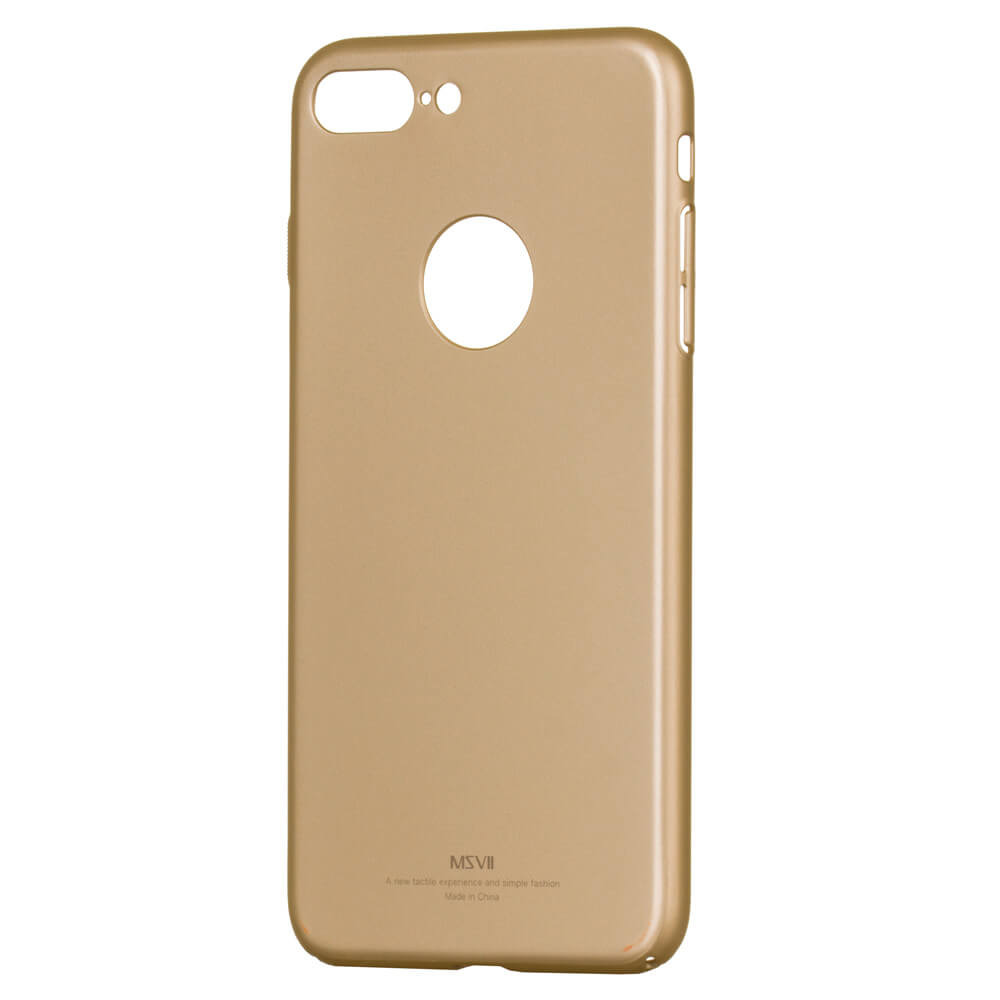 FORCELL MSVII Ultratenký obal Apple iPhone 7 Plus zlatý 655eda0dda9