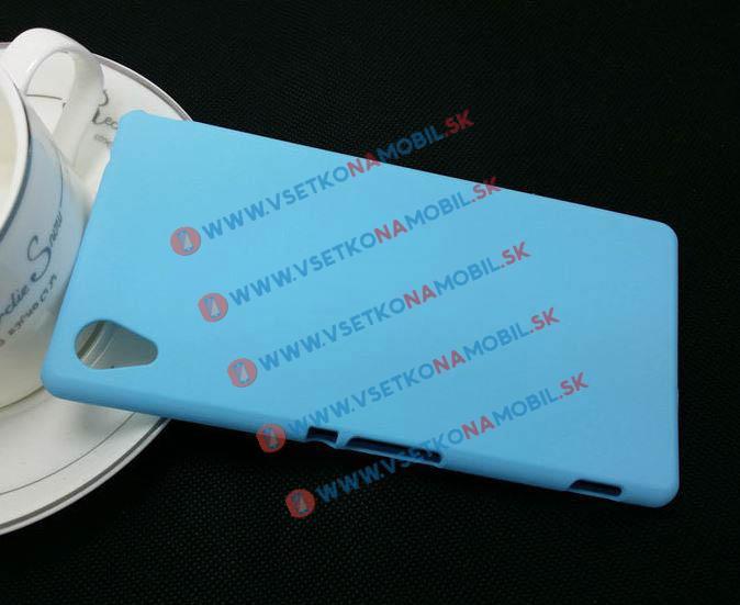 Plastový obal Sony Xperia M4 Aqua modrý