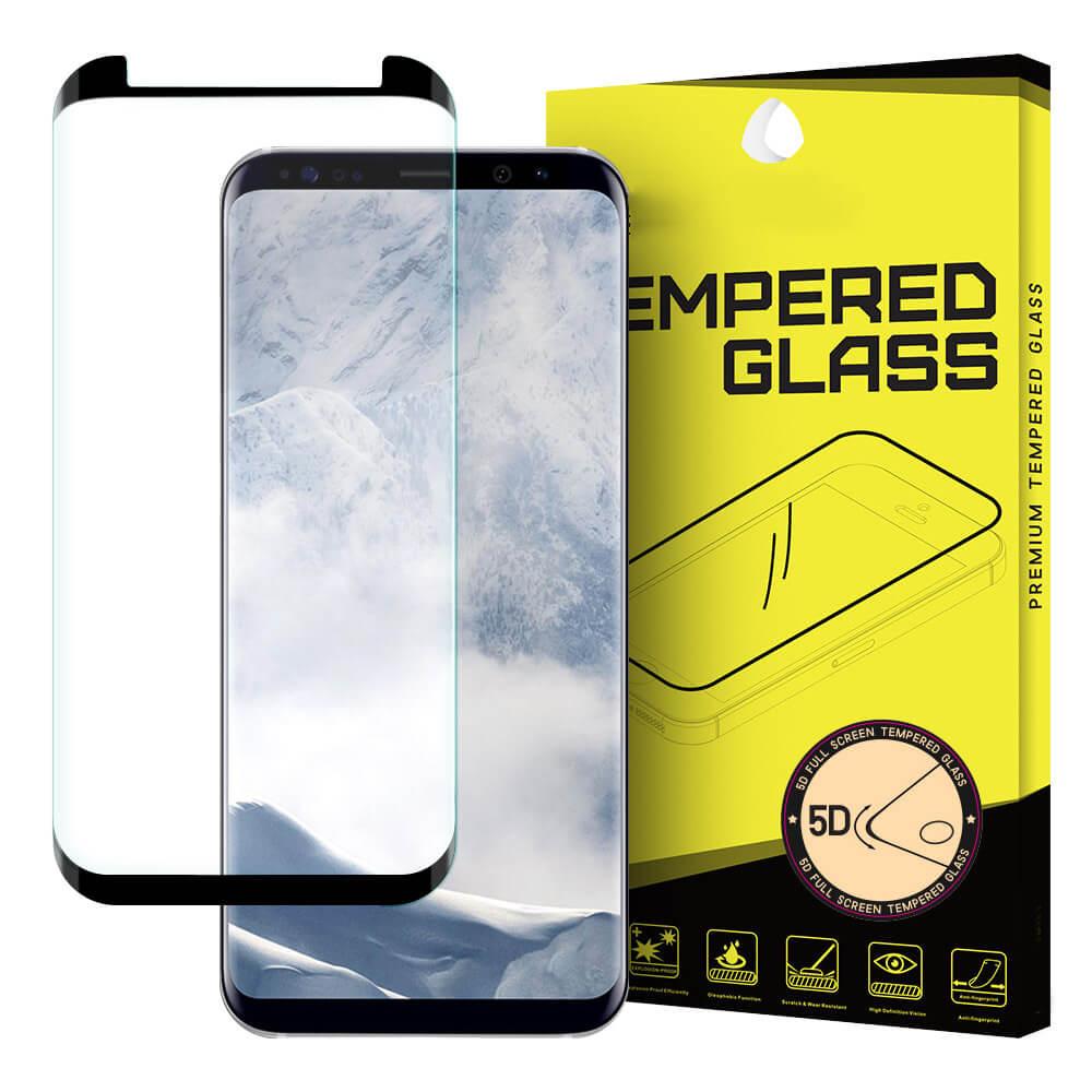 FORCELL 3D Tvrzené sklo Samsung Galaxy S8 černé