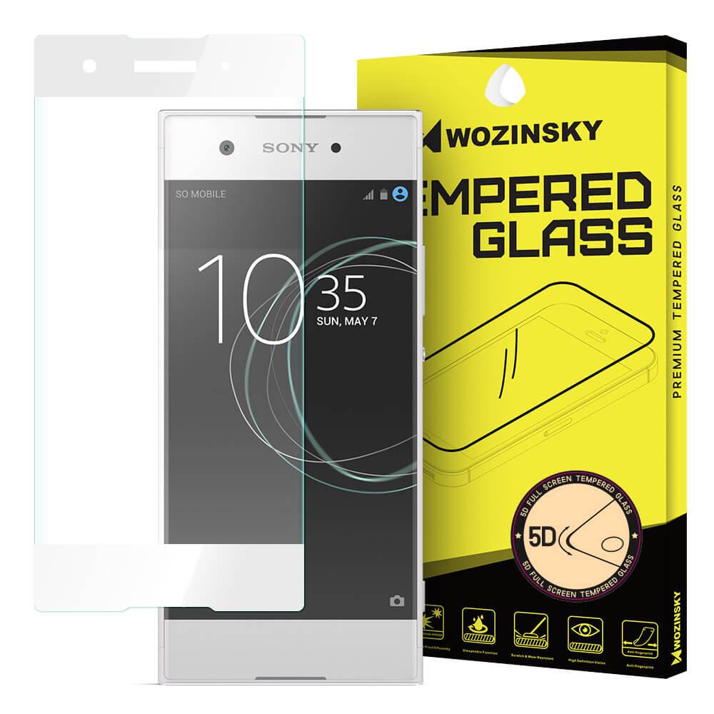 FORCELL 3D Temperované sklo Sony Xperia XA1 biele
