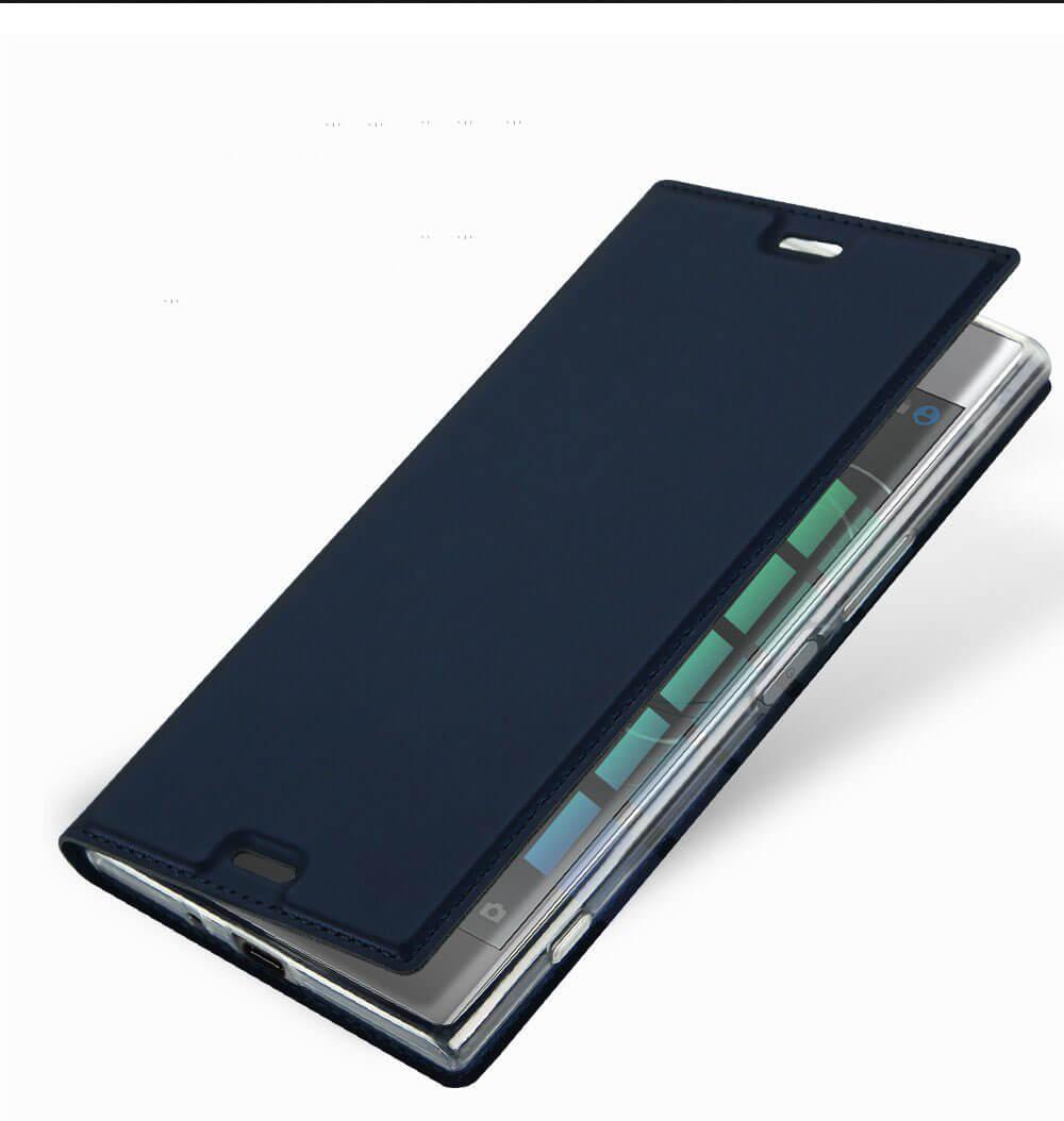 FORCELL DUX Flipové púzdro Sony Xperia XZ1 modré