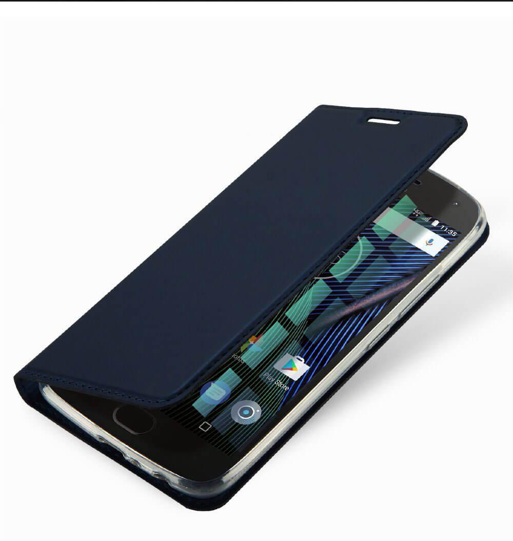 FORCELL DUX Flipové púzdro Lenovo Moto G5S Plus modré