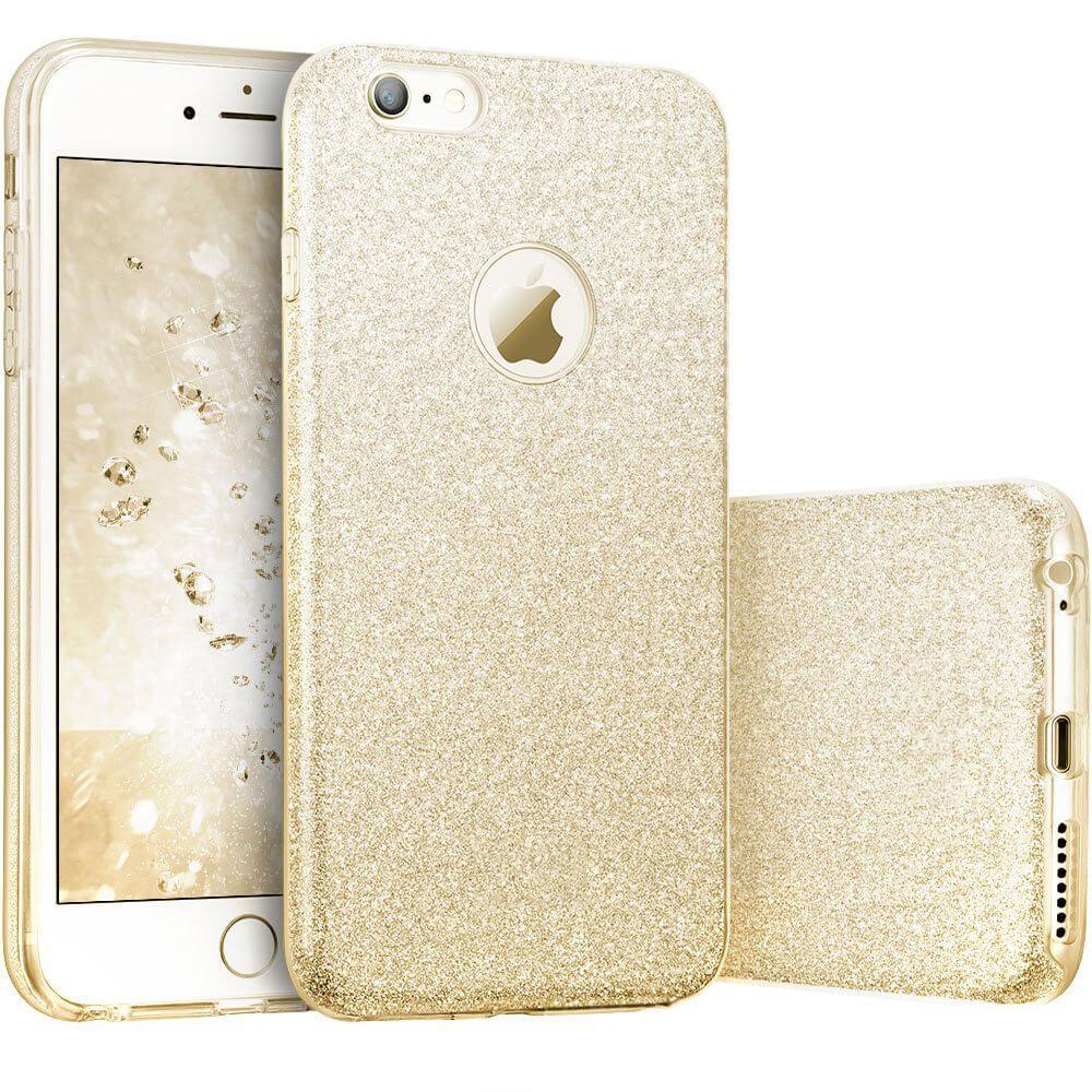 FORCELL SHINING Ochranný obal Apple iPhone 6 / 6S zlatý