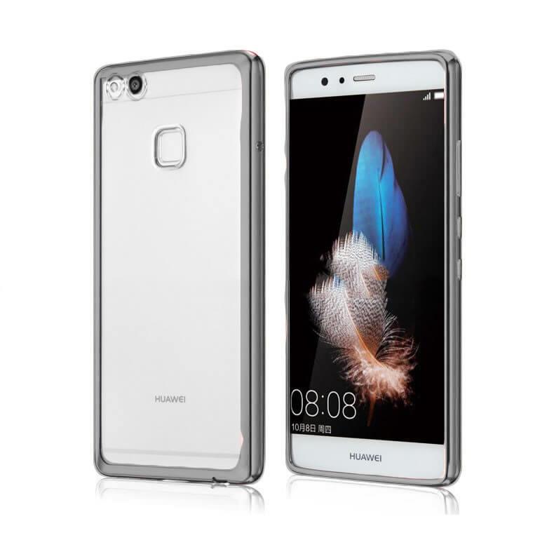 FORCELL METALLIC Silikónový obal Huawei P10 Lite čierny