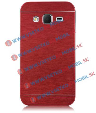 Hliníkový kryt Samsung Galaxy Core Prime (G360) červený