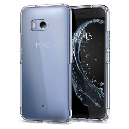 FORCELL Silikonový obal HTC U11 průhledný