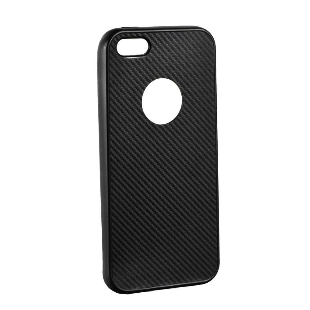 FORCELL FIBER Ochranný obal Apple iPhone 5 / 5S / SE černý